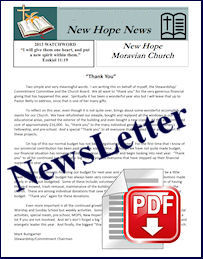 New Hope Monthly Newsletter